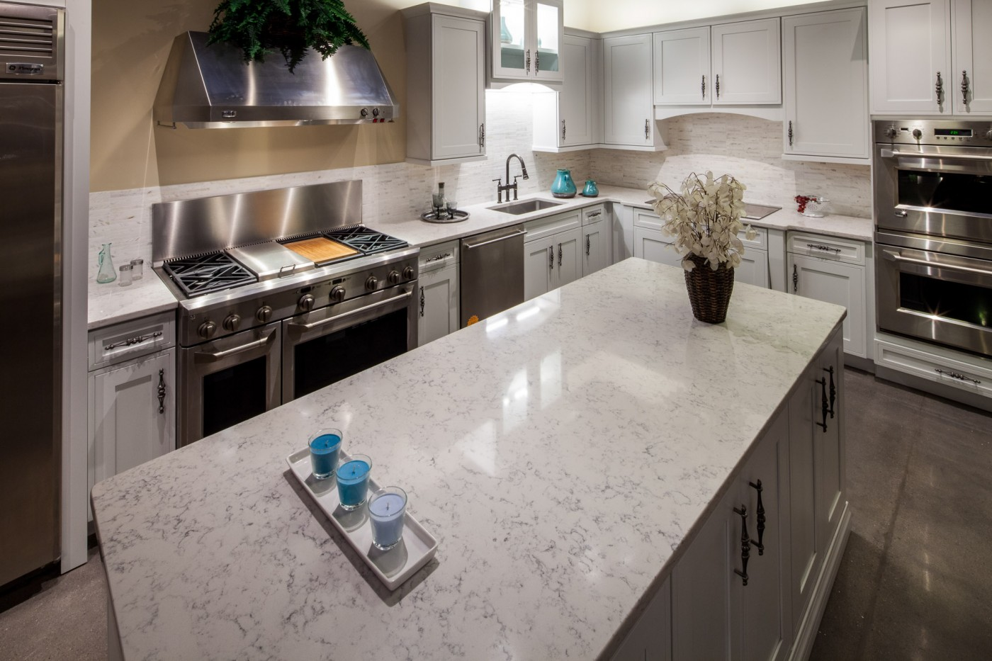 Silestone Quartz Countertops For Kitchens : Marble and granite countertops ma quartz