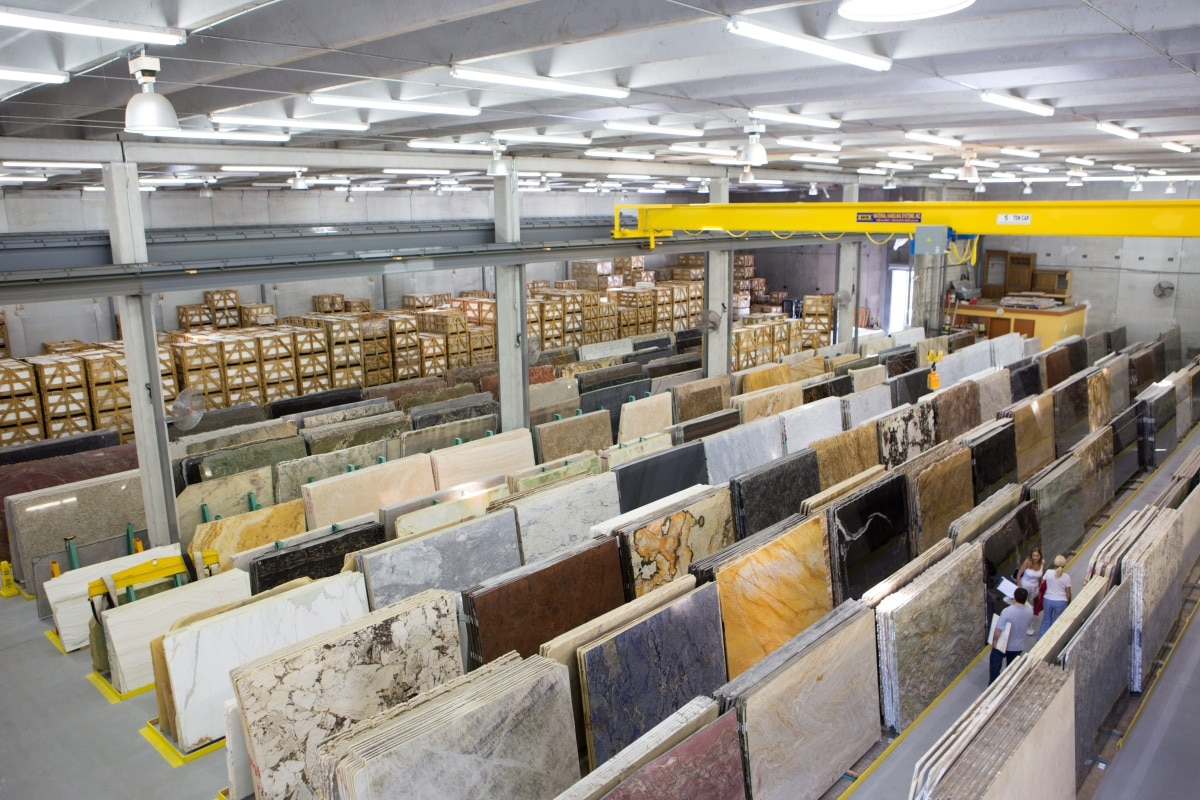 shot columbus of opening isfa hanwhas countertops features ohio countertop pm warehouse s the screen showroom surfaces new at hanwha announces granite architectural and