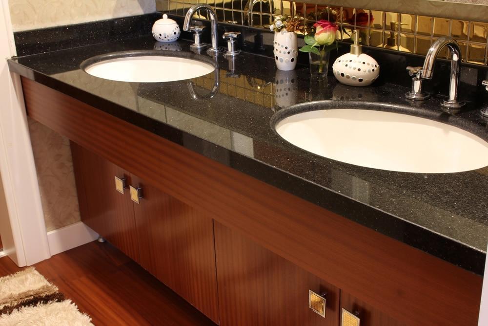 Marble and granite vanity tops new view marble and granite for Granite durability
