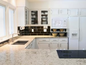 White Granite Countertops in Massachusetts for Your Neoclassical Home