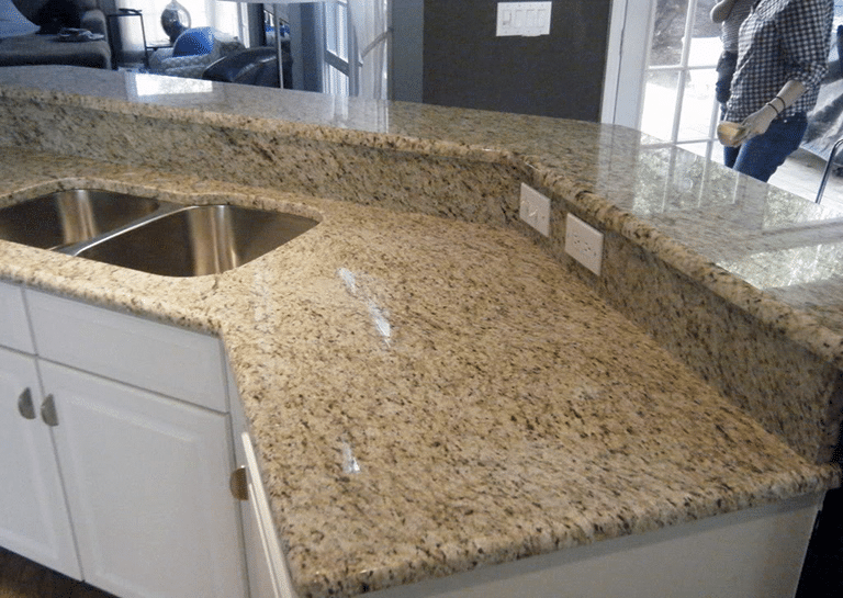 Giallo ornamental granite at discount prices in boston for Granite countertops colors price