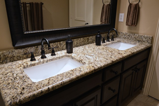 countertop bathroom countertops the granite application of for a