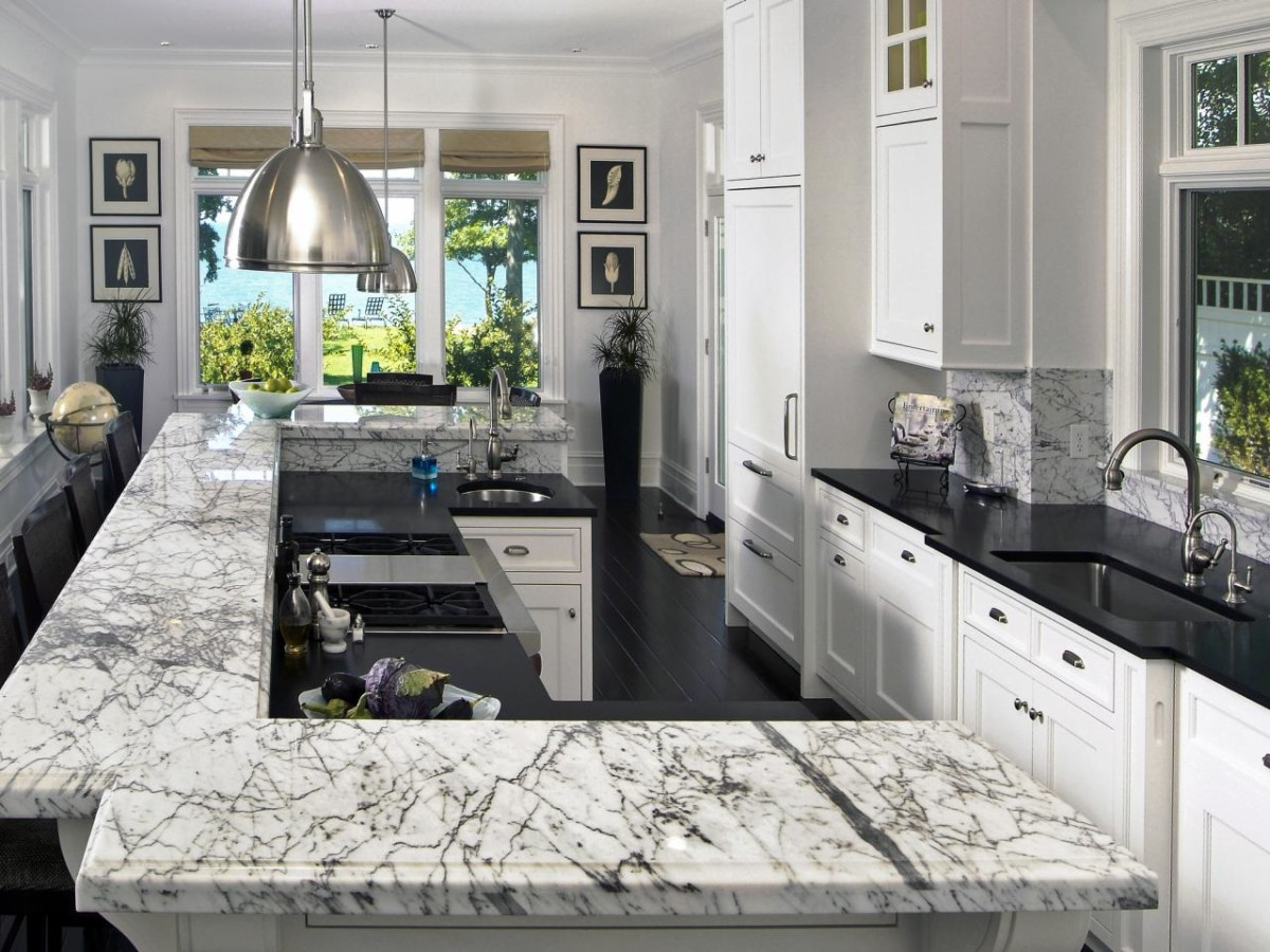 Exceptionnel Kitchen Countertops In Marble Boston