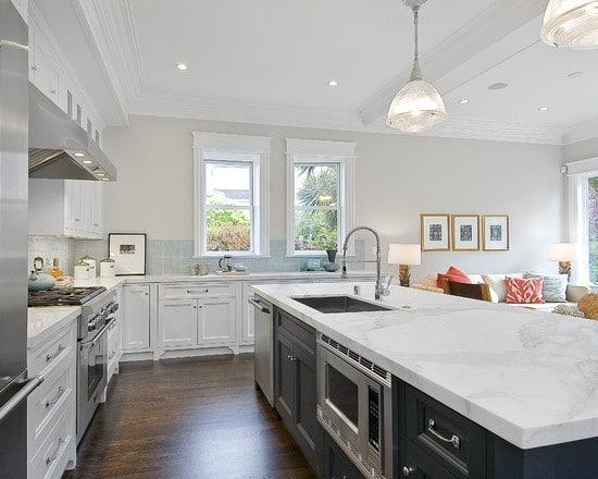 White Granite Countertops in Massachusetts - New View ...