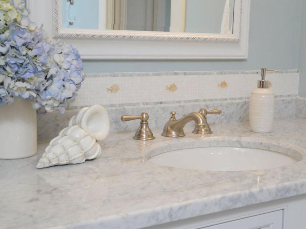Marble Bathroom Countertops in Boston – Franklin Ma