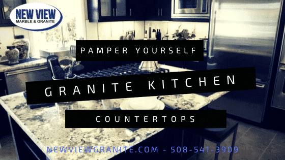 Pamper Yourself By Installing Granite Kitchen Countertops